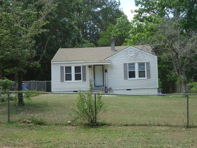 Brookfield, Chula, Tifton, Irwinville, Omega, Poulan, Sycamore, Sumner, Ty Ty, Ashburn, Rebecca Single Family Home For Sale: 808 Tyson Ave