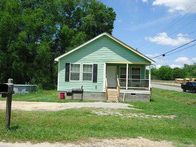 Brookfield, Chula, Tifton, Irwinville, Omega, Poulan, Sycamore, Sumner, Ty Ty, Ashburn, Rebecca Single Family Home For Sale: 1113 Sunnybrook Ave