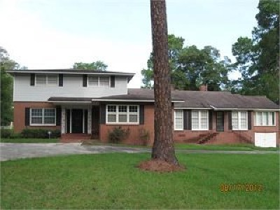 Brookfield, Chula, Tifton, Irwinville, Omega, Poulan, Sycamore, Sumner, Ty Ty, Ashburn, Rebecca Single Family Home For Sale: 1408 N Ridge Ave