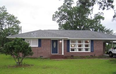 Ocilla, Irwinville, Chula, Wray , Abbeville, Fitzgerald, Mystic, Ashburn, Sycamore, Rebecca Single Family Home For Sale: 120 Traylor Ave