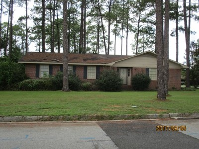 Brookfield, Chula, Tifton, Irwinville, Omega, Poulan, Sycamore, Sumner, Ty Ty, Ashburn, Rebecca Single Family Home For Sale: 1480 Madison Avenue