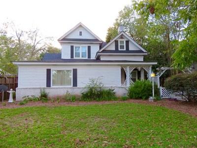 Ocilla, Irwinville, Chula, Wray , Abbeville, Fitzgerald, Mystic, Ashburn, Sycamore, Rebecca Single Family Home For Sale: 113 S Merrimac