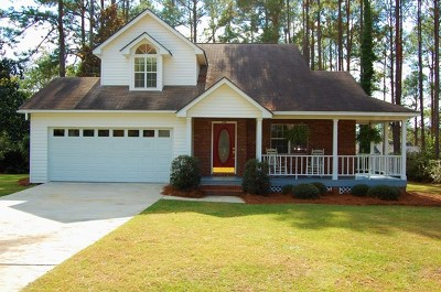 Brookfield, Chula, Tifton, Irwinville, Omega, Poulan, Sycamore, Sumner, Ty Ty, Ashburn, Rebecca Single Family Home For Sale: 714 E 42nd Street