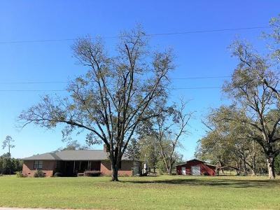 Brookfield, Chula, Tifton, Irwinville, Omega, Poulan, Sycamore, Sumner, Ty Ty, Ashburn, Rebecca Single Family Home For Sale: 4220 S Hwy 41