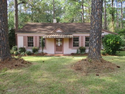 Brookfield, Chula, Tifton, Irwinville, Omega, Poulan, Sycamore, Sumner, Ty Ty, Ashburn, Rebecca Single Family Home For Sale: 1624 Ridge Ave N