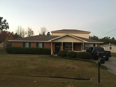Poulan, Sumner, Warwick, Sylvester, Ashburn, Sycamore, Rebecca Single Family Home For Sale: 669 Whatley Dr