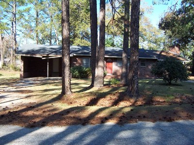Ocilla, Irwinville, Chula, Wray , Abbeville, Fitzgerald, Mystic, Ashburn, Sycamore, Rebecca Single Family Home For Sale: 117 Puckett Dr