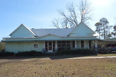 Poulan, Sumner, Warwick, Sylvester, Ashburn, Sycamore, Rebecca Single Family Home For Sale: 306 E Kelly St.