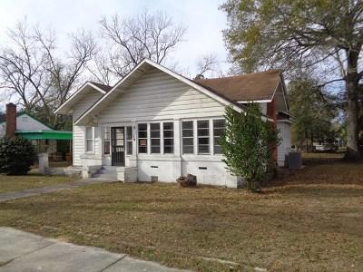 Ocilla, Irwinville, Chula, Wray , Abbeville, Fitzgerald, Mystic, Ashburn, Sycamore, Rebecca Single Family Home For Sale: 310 N Irwin Avenie