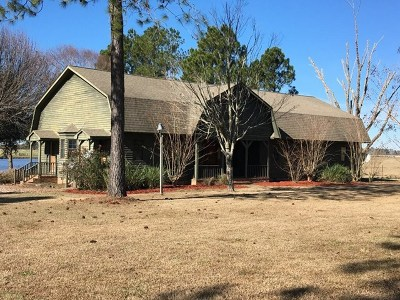 Brookfield, Chula, Tifton, Irwinville, Omega, Poulan, Sycamore, Sumner, Ty Ty, Ashburn, Rebecca Single Family Home For Sale: 78 Red Barn Road