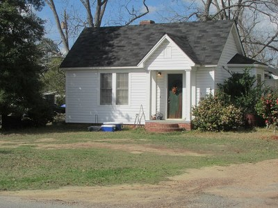 Ocilla, Irwinville, Chula, Wray , Abbeville, Fitzgerald, Mystic, Ashburn, Sycamore, Rebecca Single Family Home For Sale: 207 W 2nd St.