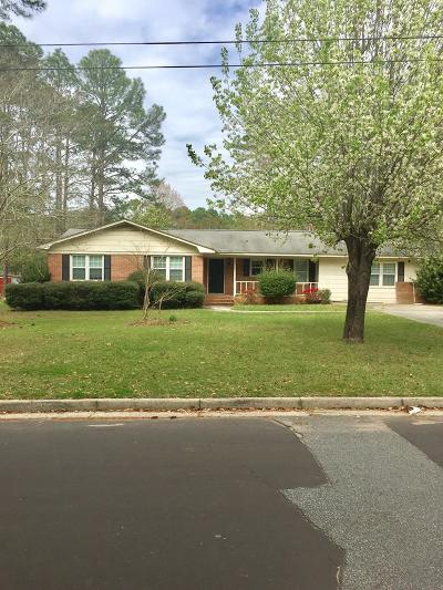 Brookfield, Chula, Tifton, Irwinville, Omega, Poulan, Sycamore, Sumner, Ty Ty, Ashburn, Rebecca Single Family Home For Sale: 509 E 16th