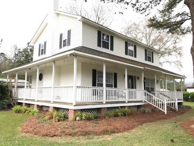 Brookfield, Chula, Tifton, Irwinville, Omega, Poulan, Sycamore, Sumner, Ty Ty, Ashburn, Rebecca Single Family Home For Sale: 350 Copeland