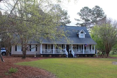 Brookfield, Chula, Tifton, Irwinville, Omega, Poulan, Sycamore, Sumner, Ty Ty, Ashburn, Rebecca Single Family Home For Sale: 2001 Rutland Road