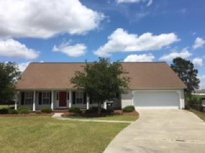 Brookfield, Chula, Tifton, Irwinville, Omega, Poulan, Sycamore, Sumner, Ty Ty, Ashburn, Rebecca Single Family Home For Sale: 166 Cambridge Court