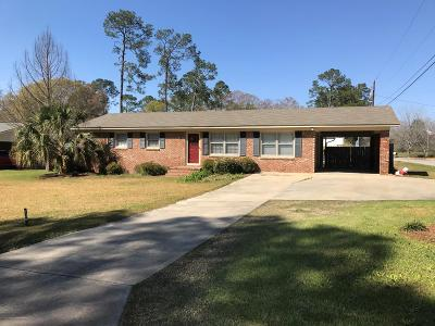 Brookfield, Chula, Tifton, Irwinville, Omega, Poulan, Sycamore, Sumner, Ty Ty, Ashburn, Rebecca Single Family Home For Sale: 136 Pines Drive