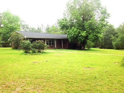 Brookfield, Chula, Tifton, Irwinville, Omega, Poulan, Sycamore, Sumner, Ty Ty, Ashburn, Rebecca Single Family Home For Sale: 57 Lakeside Drive