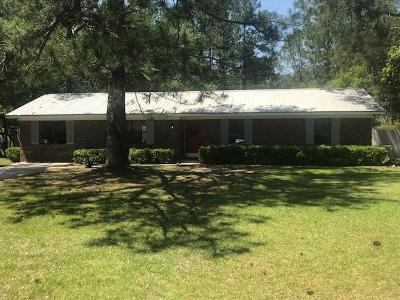 Brookfield, Chula, Tifton, Irwinville, Omega, Poulan, Sycamore, Sumner, Ty Ty, Ashburn, Rebecca Single Family Home For Sale: 1480 Twila Drive