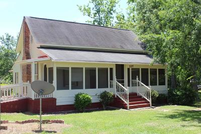 Brookfield, Chula, Tifton, Irwinville, Omega, Poulan, Sycamore, Sumner, Ty Ty, Ashburn, Rebecca Single Family Home For Sale: 127 W Elman Street