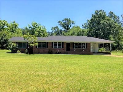 Brookfield, Chula, Tifton, Irwinville, Omega, Poulan, Sycamore, Sumner, Ty Ty, Ashburn, Rebecca Single Family Home For Sale: 1793 Tift County Line Rd