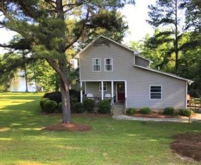 Lake Blackshear, Cordele, Warwick, Arabi, Ashburn, Rebecca, Sycamore Single Family Home For Sale: 238 S Cedar Creek Road