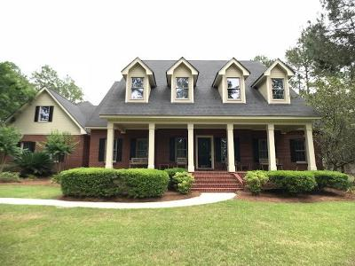 Brookfield, Chula, Tifton, Irwinville, Omega, Poulan, Sycamore, Sumner, Ty Ty, Ashburn, Rebecca Single Family Home For Sale: 6007 Eastlake Dr