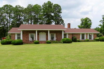 Poulan, Sumner, Warwick, Sylvester, Ashburn, Sycamore, Rebecca Single Family Home For Sale: 1405 Bussey