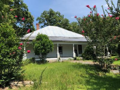 Ocilla, Irwinville, Chula, Wray , Abbeville, Fitzgerald, Mystic, Ashburn, Sycamore, Rebecca Single Family Home For Sale: 158 Bowen St.