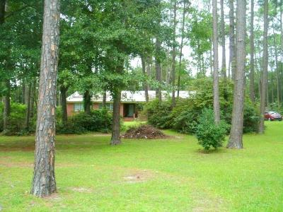 Brookfield, Chula, Tifton, Irwinville, Omega, Poulan, Sycamore, Sumner, Ty Ty, Ashburn, Rebecca Single Family Home For Sale: 292 Mt Olive Church Rd