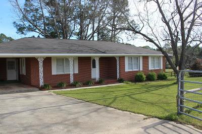 Lake Blackshear, Cordele, Warwick, Arabi, Ashburn, Rebecca, Sycamore Single Family Home For Sale: 5971 Ga Hwy 32 East