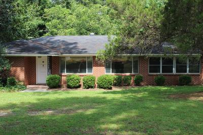 Brookfield, Chula, Tifton, Irwinville, Omega, Poulan, Sycamore, Sumner, Ty Ty, Ashburn, Rebecca Single Family Home For Sale: 105 Fulwood Blvd