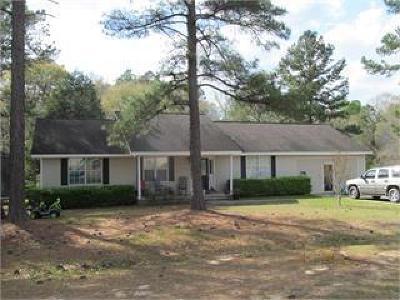 Ocilla, Irwinville, Chula, Wray , Abbeville, Fitzgerald, Mystic, Ashburn, Sycamore, Rebecca Single Family Home For Sale: 105 Bambi Street