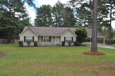 Ocilla, Irwinville, Chula, Wray , Abbeville, Fitzgerald, Mystic, Ashburn, Sycamore, Rebecca Single Family Home For Sale: 117 Deerrun Street