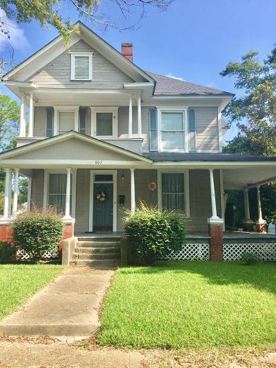 Ocilla, Irwinville, Chula, Wray , Abbeville, Fitzgerald, Mystic, Ashburn, Sycamore, Rebecca Single Family Home For Sale: 807 W. Central