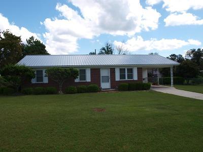 Ocilla, Irwinville, Chula, Wray , Abbeville, Fitzgerald, Mystic, Ashburn, Sycamore, Rebecca Single Family Home For Sale: 141 Carol Circle