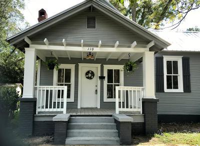 Ocilla, Irwinville, Chula, Wray , Abbeville, Fitzgerald, Mystic, Ashburn, Sycamore, Rebecca Single Family Home For Sale: 110 West Orange St.