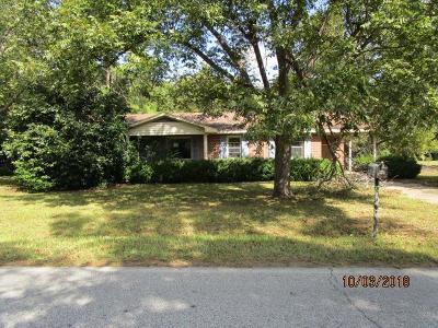 Ocilla, Irwinville, Chula, Wray , Abbeville, Fitzgerald, Mystic, Ashburn, Sycamore, Rebecca Single Family Home For Sale: 155 Washington Ave