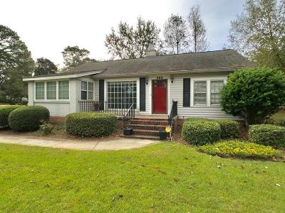 Brookfield, Chula, Tifton, Irwinville, Omega, Poulan, Sycamore, Sumner, Ty Ty, Ashburn, Rebecca Single Family Home For Sale: 502 W 8th St.