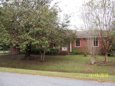 Single Family Home For Sale: 645 Whatley Dr