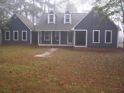 Brookfield, Chula, Tifton, Irwinville, Omega, Poulan, Sycamore, Sumner, Ty Ty, Ashburn, Rebecca Single Family Home For Sale: 3343 Chula Brookfield Road