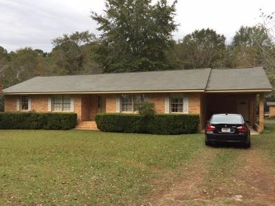 Brookfield, Chula, Tifton, Irwinville, Omega, Poulan, Sycamore, Sumner, Ty Ty, Ashburn, Rebecca Single Family Home For Sale: 12 Mathis Rd