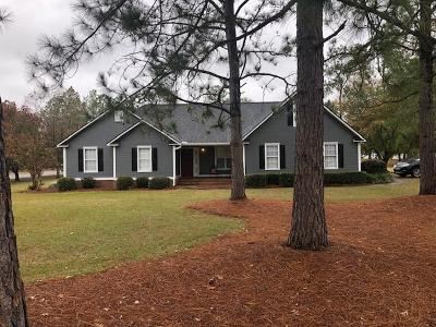 Brookfield, Chula, Tifton, Irwinville, Omega, Poulan, Sycamore, Sumner, Ty Ty, Ashburn, Rebecca Single Family Home For Sale: 3804 Carmichael Dr