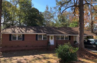 Brookfield, Chula, Tifton, Irwinville, Omega, Poulan, Sycamore, Sumner, Ty Ty, Ashburn, Rebecca Single Family Home For Sale: 608 E 20th