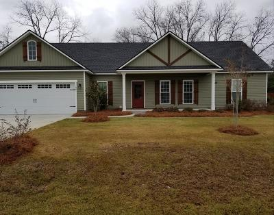 Brookfield, Chula, Tifton, Irwinville, Omega, Poulan, Sycamore, Sumner, Ty Ty, Ashburn, Rebecca Single Family Home For Sale: 66 Cayde Circle