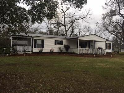 Brookfield, Chula, Tifton, Irwinville, Omega, Poulan, Sycamore, Sumner, Ty Ty, Ashburn, Rebecca Single Family Home For Sale: 11 E Brookfield Lenox Rd.