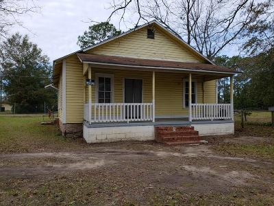 Brookfield, Chula, Tifton, Irwinville, Omega, Poulan, Sycamore, Sumner, Ty Ty, Ashburn, Rebecca Single Family Home For Sale: 205 Old Omega Rd
