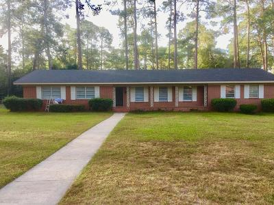 Brookfield, Chula, Tifton, Irwinville, Omega, Poulan, Sycamore, Sumner, Ty Ty, Ashburn, Rebecca Single Family Home For Sale: 248 Carolina Drive