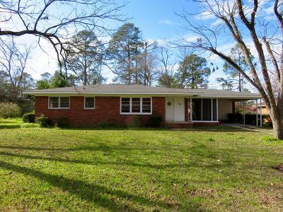 Ocilla, Irwinville, Chula, Wray , Abbeville, Fitzgerald, Mystic, Ashburn, Sycamore, Rebecca Single Family Home For Sale: 126 Terry Ave