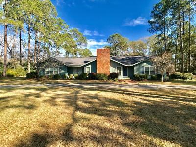 Ocilla, Irwinville, Chula, Wray , Abbeville, Fitzgerald, Mystic, Ashburn, Sycamore, Rebecca Single Family Home For Sale: 174 Jeff Davis Hwy