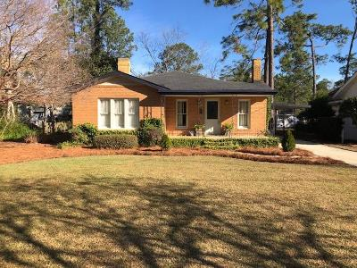 Brookfield, Chula, Tifton, Irwinville, Omega, Poulan, Sycamore, Sumner, Ty Ty, Ashburn, Rebecca Single Family Home For Sale: 603 W 12th St